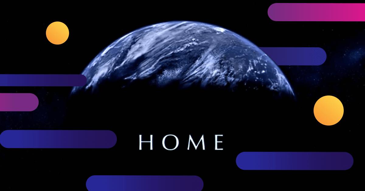 Planeta Tierra visto desde el espacio exterior