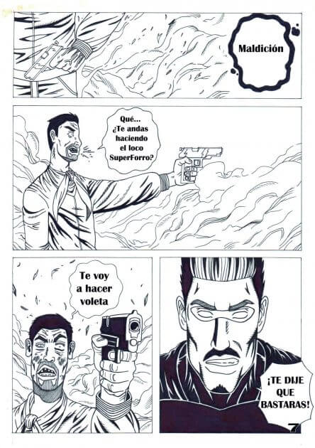 SuperFord, el comandante supremo (comic)