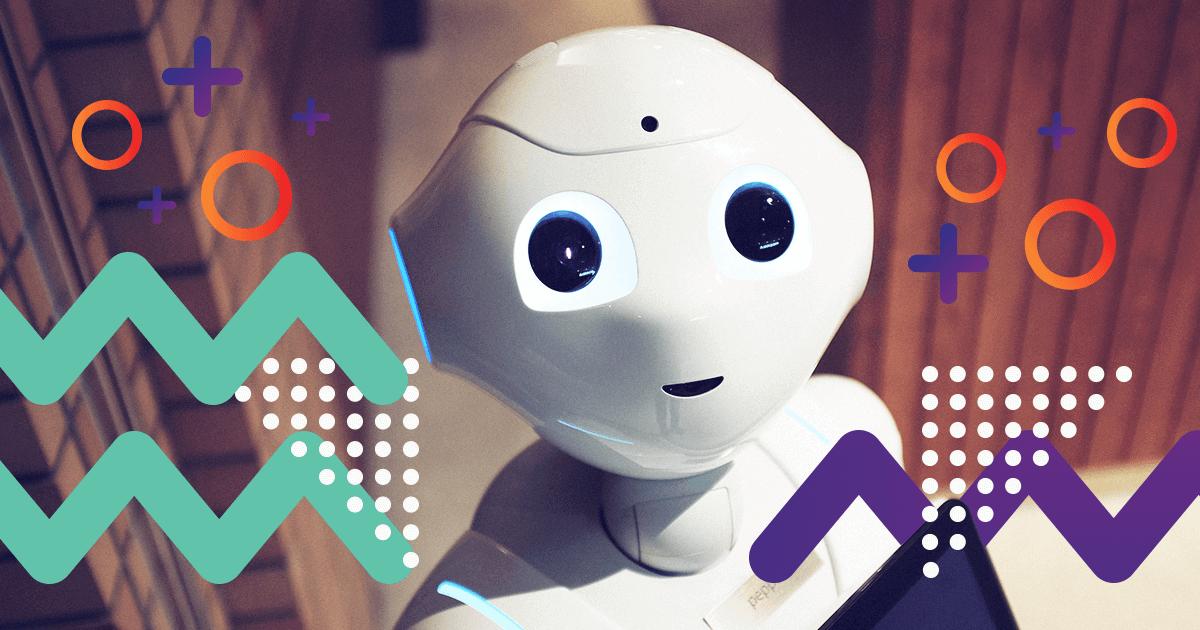Robot mirando a cámara