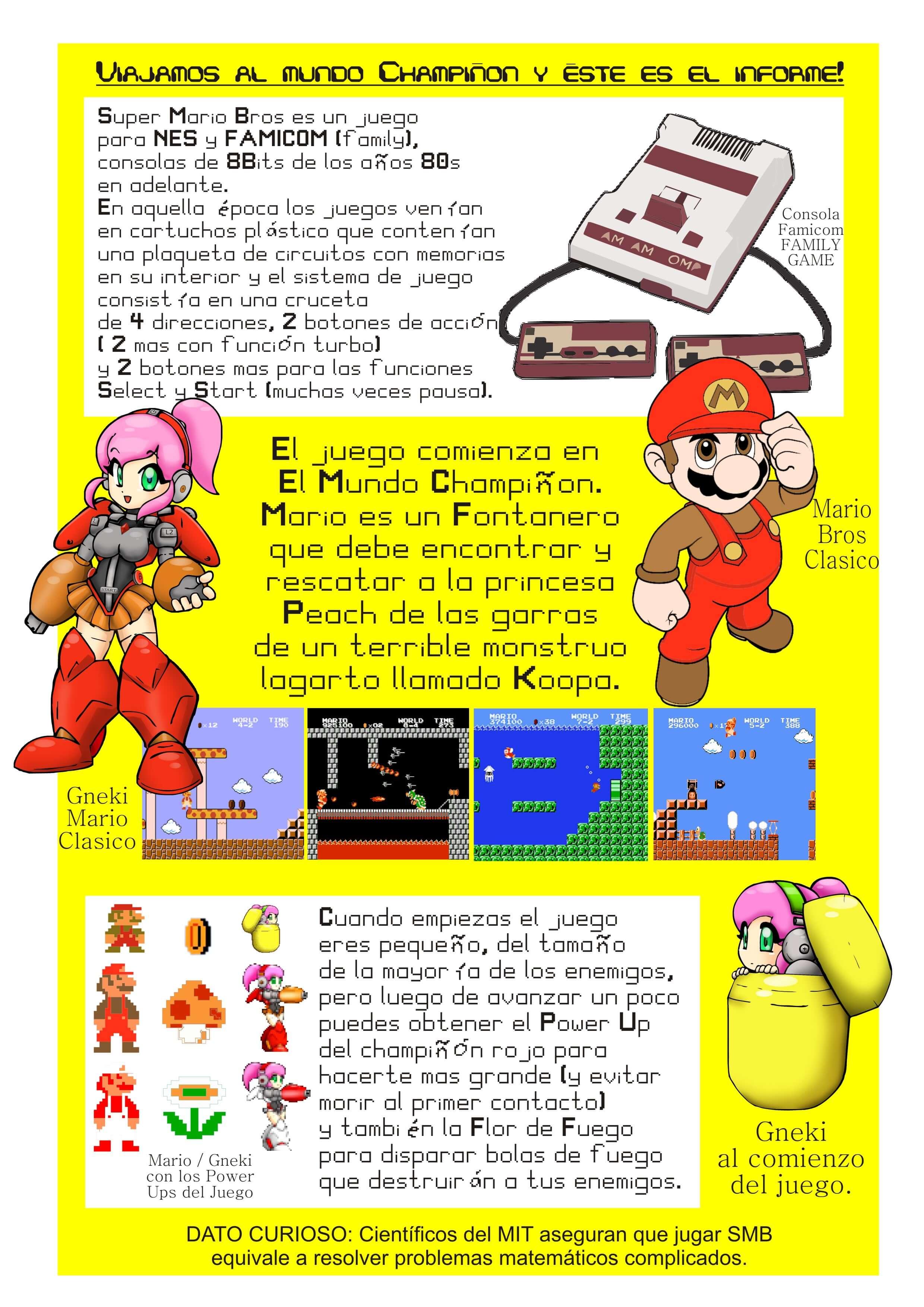 Prisma Gneki Y Super Mario Bros